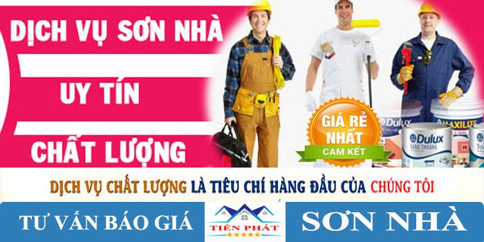 Dịch vụ sơn nhà tại TPHCM uy tín nhất