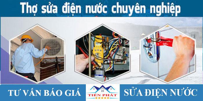 Thợ sửa điện tại nhà quận tân bình