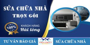 Dịch vụ sửa nhà quận Tân Phú