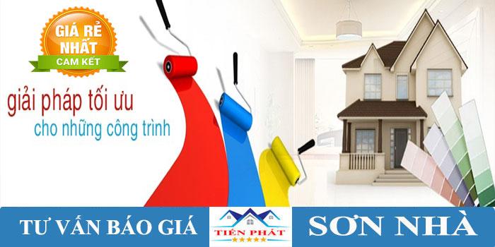 Dịch vụ quét sơn nhà giá rẻ