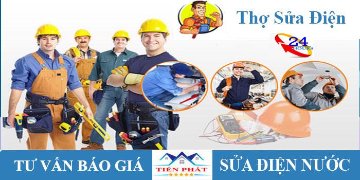 Thợ sửa điện tại nhà nhanh an toan nhất