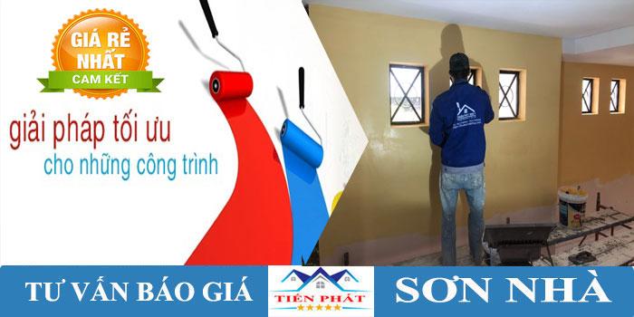 Dịch vụ thi công sơn nhà