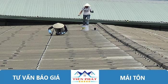 Thợ sửa chữa mái tôn tại quận 10