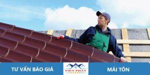 Thợ sửa chữa mái tôn tại quận 11