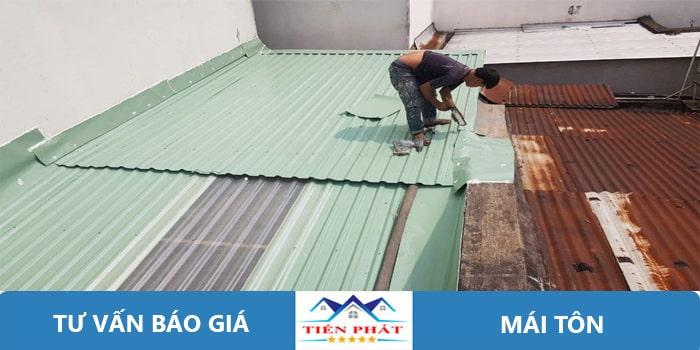 Thợ sửa chữa mái tôn tại quận 4
