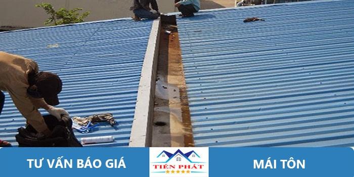 Thợ sửa chữa mái tôn tại quận 6