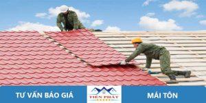 Thợ sửa chữa mái tôn tại quận 7