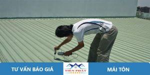 Thợ sửa chữa mái tôn tại quận Bình Tân