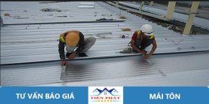 Thợ sửa chữa mái tôn tại quận Bình Thạnh