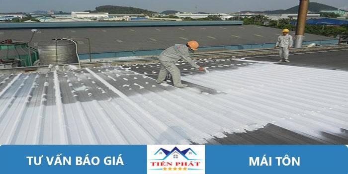 Thợ sửa chữa mái tôn tại quận Gò Vấp