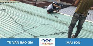 Thợ sửa chữa mái tôn tại quận Phú Nhuận