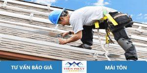 Thợ sửa chữa mái tôn tại quận Tân Bình