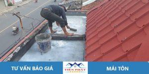 Thợ sửa chữa mái tôn tại TPHCM