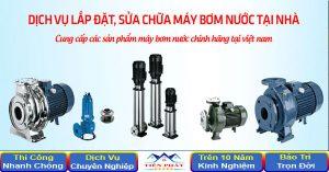 Tìm hiểu về dịch vụ sửa chữa máy bơm chìm hiệu quả nhất tphcm