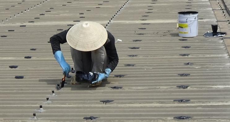 Tham khảo phương pháp chống dột mái tôn xi măng