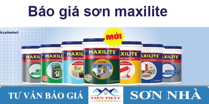 Bảng báo giá sơn maxilite mới nhất 2020