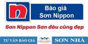 Báo giá sơn nippon mới nhất 2020