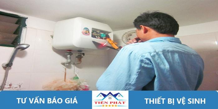 Báo giá sửa chữa lắp đặt vòi nước nóng lạnh